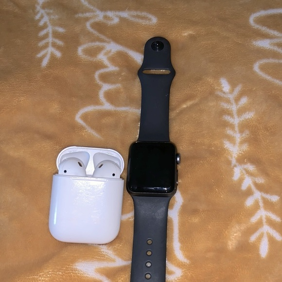 Apple Watch and AirPod bundle :)
